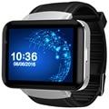 DOMINO DM98 2.2 дюймов Android 4.4 3 Г Smartwatch Телефон MTK6572 Dual Core 1.2 ГГц 4 ГБ ROM Камеры Bluetooth GPS Smart Watch