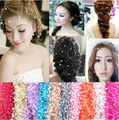 Bridal jewelry bridal headdress head flower beads wire starry wedding jewelry for women