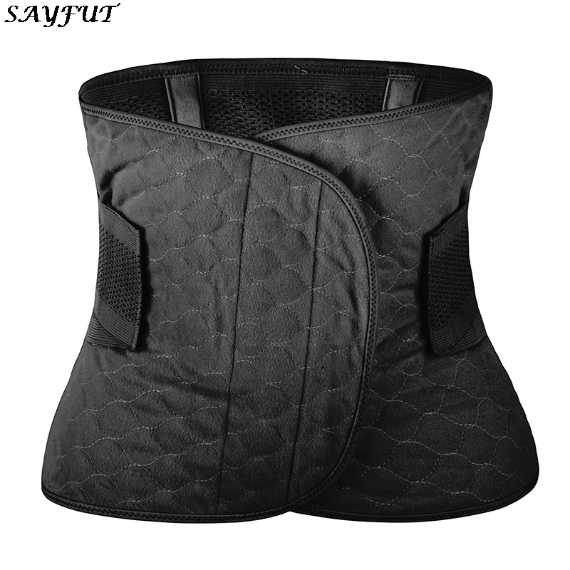 Women Shaper Waist Trainer Corset for Weight Loss Workout Body Shaper Tummy Control Belt Body Shaper Tummy Fat Burning image