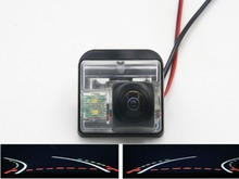 HD 1080P Fisheye Lens Trajectory Tracks Car Rear view Camera For Mazda 6 2003-2013 CX-7 CX-9 2007 2008 2009 2010 2011 2012 цена