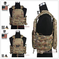Hunting Tactical Vest Airsoft Combat MERSON CP Style Cherry Plate Carrier NCPC Genuine MultiCam EM7435