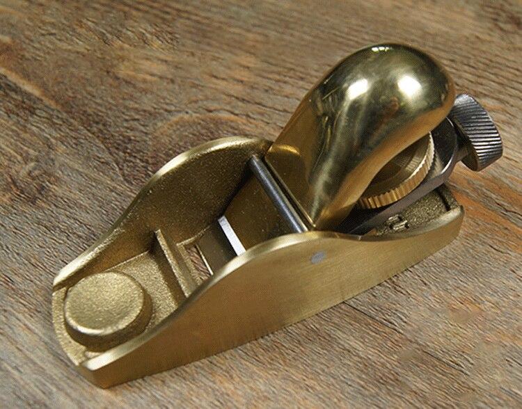 ФОТО Professional carpentry metal planing,European copper Mini plane,woodworking tool