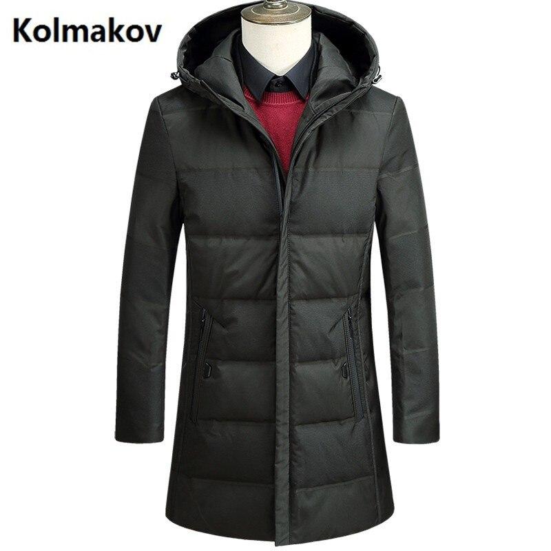 2017 men fashion casual coats Mens keep warm thicken 80% Grey duck down Down Coats jacket Mens hooded winter jackets