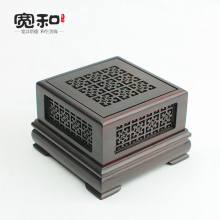 Incense box wood rosewood sandalwood incense ornaments for collectors of high-end coil furnace oil burner