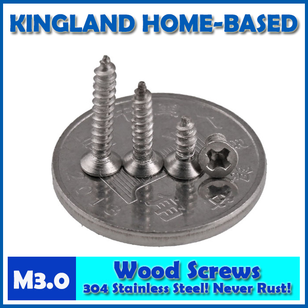 GB846 M3 Cross Recessed Phillips Countersunk Flat Head Self-tapping Wood Screws For Laptop 304 Stainless Steel LD005 40pcs 304 stainless steel countersunk head tapping screws countersunk head self tapping screw m3 5 20 gb846