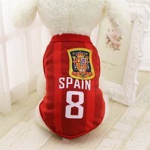 Sports Football Dog Clothes