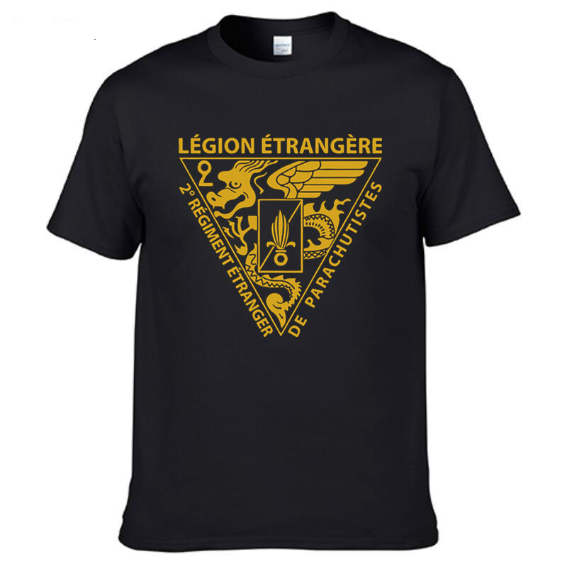 New French Foreign Legion Special Forces World War <font><b>Army</b></font> T Shirt <font><b>Tshirt</b></font> Homme Camisetas <font><b>Men</b></font> Cotton T-shirt Tees Tops image