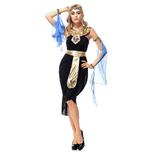 egyptian queen dress cleopatra roman goddess costume mysterious ladies latin dance fancy dress halloween costumes for