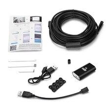 KERUI HD 720P WIFI Endoskop Kamera Semi Starren Rohr Weichen Draht 10M Wasserdichte Endoskop Inspektion Kamera IOS USB endoskop