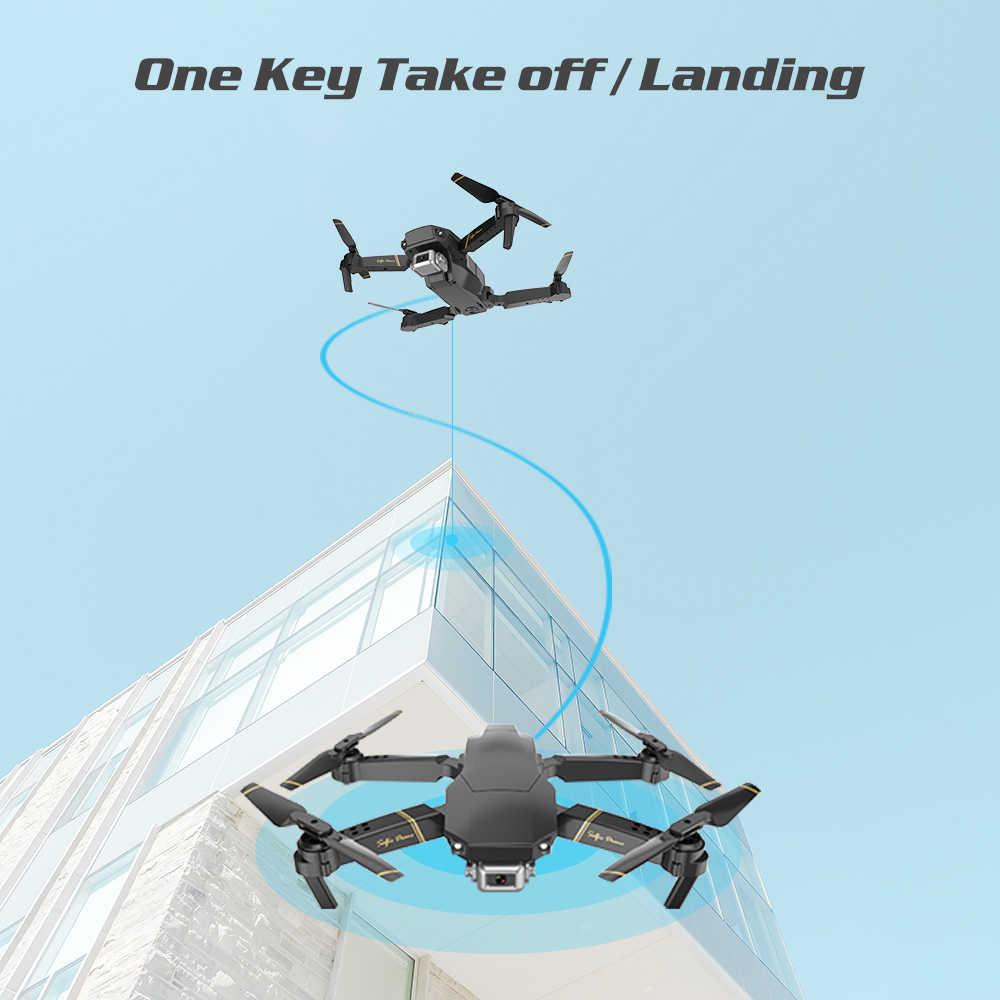 Dron 1080P HD WiFi transmisja dron fpv wysokość utrzymuje jednoprzyciskowy powrót zdalnie sterowany Quadcopter VS gd89 dron z kamerą dron