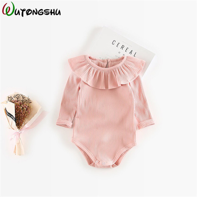 f4c538c5b88e Baby Rompers For Girls Newborn Baby Clothes Long Sleeve Underwear ...