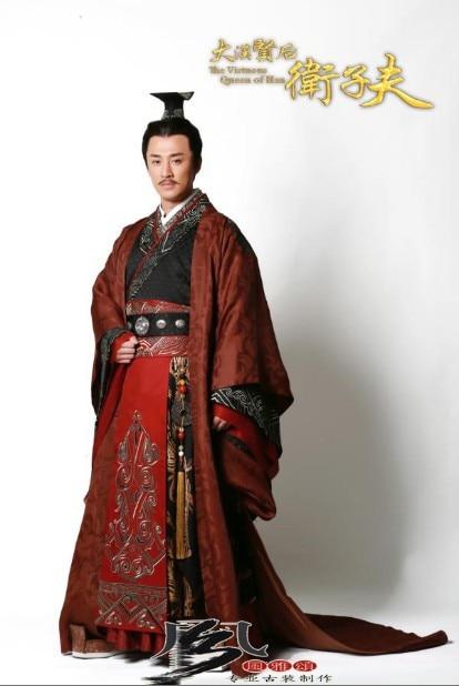 Costume masculin hanfu de haute qualité Costume de l'empereur - Vêtements nationaux - Photo 5