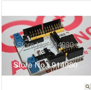 Wireless SD Shield, XBEE/bluetooth/steering mouth/sensor/APC2XX an expansion board