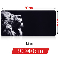 SAGO New 90 40cm Pro Gaming Mouse Pad Old Dragon World Map Lion Super Mouse Pads