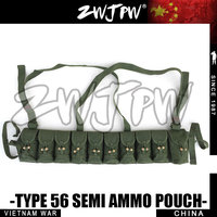 Original Chinese Army Surplus Type 56 Semi Ammo Chest Rig Bandolier Pouch Magazine Belt CN 10408