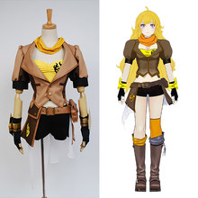 Cosplay Geel Trailer Yang Xiao Cosplay Kostuum Halloween Carnaval Kostuums(China)