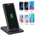 5 w portátil cargador inalámbrico, placa de carga para samsung galaxy s6/s6 edge/note 5/s7/s7 borde teléfono móvil soporte cargador inalámbrico