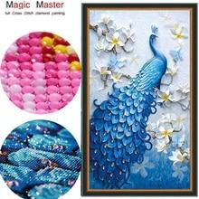 ФОТО special shaped 5d,diy diamond painting cross stitch ,diamond embroidery,animal,peacock,full,rhinestone,diamond mosaic,decoration