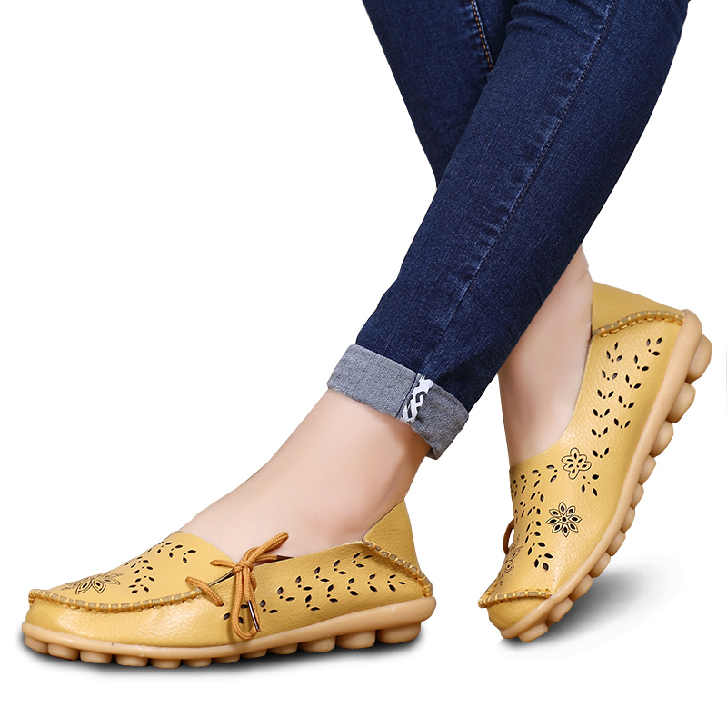2019 Fashion Women Flats Loafers Slip On Moccasin Ballet Flats Female Casual Shoes Women Shoes Chaussure Femme Zapatos Mujer