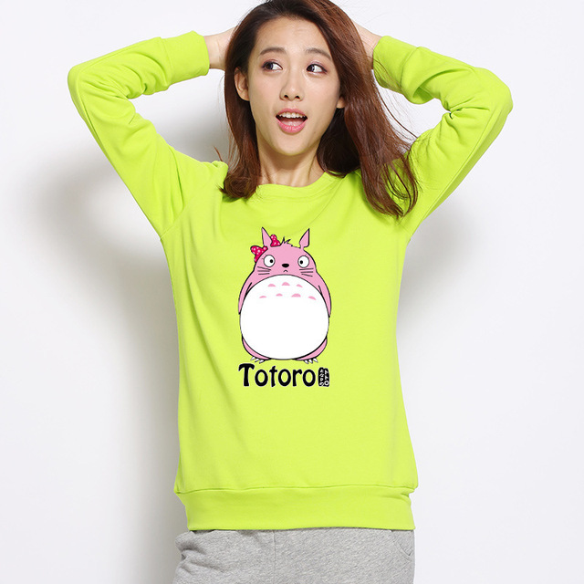 Cute Totoro Women Sweatshirt