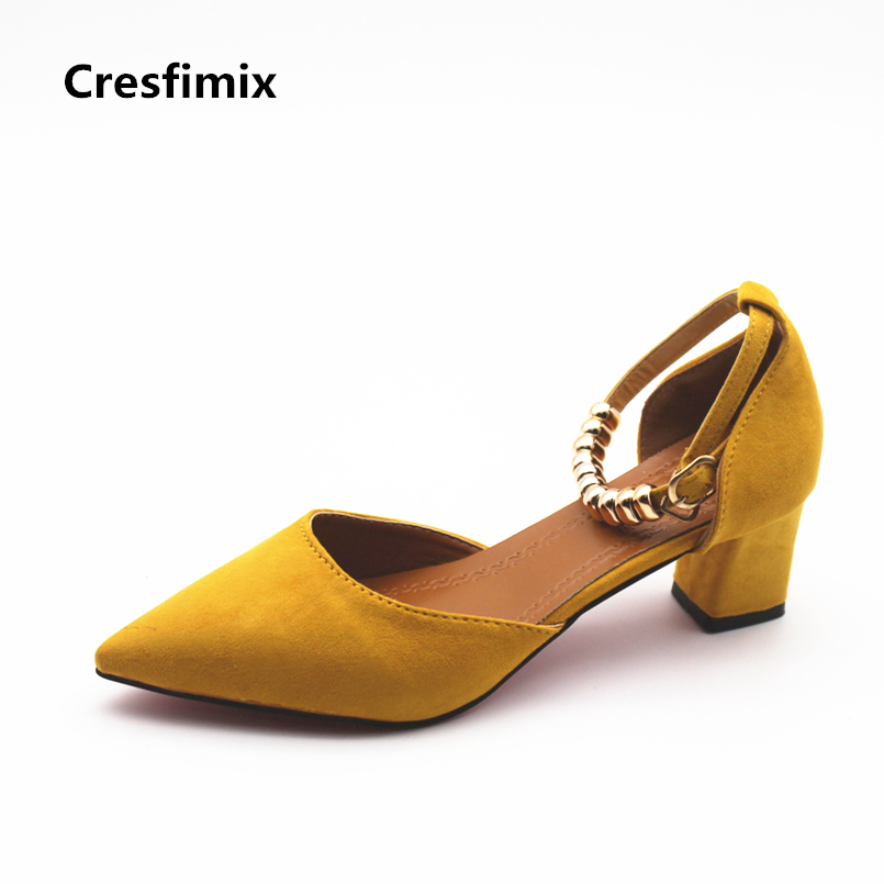 Cresfimix femmes hauts talons women fashion spring & summer slip on high heel pumps lady cute comfortable high heel shoes b888 cresfimix sandales pour femmes women sexy party high heel sandals lady cute spring