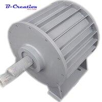 Заводская цена 10KW 220 В 380 В низкая скорость постоянного магнита генератора переменного тока редкоземельных низких оборотах генератора с пос