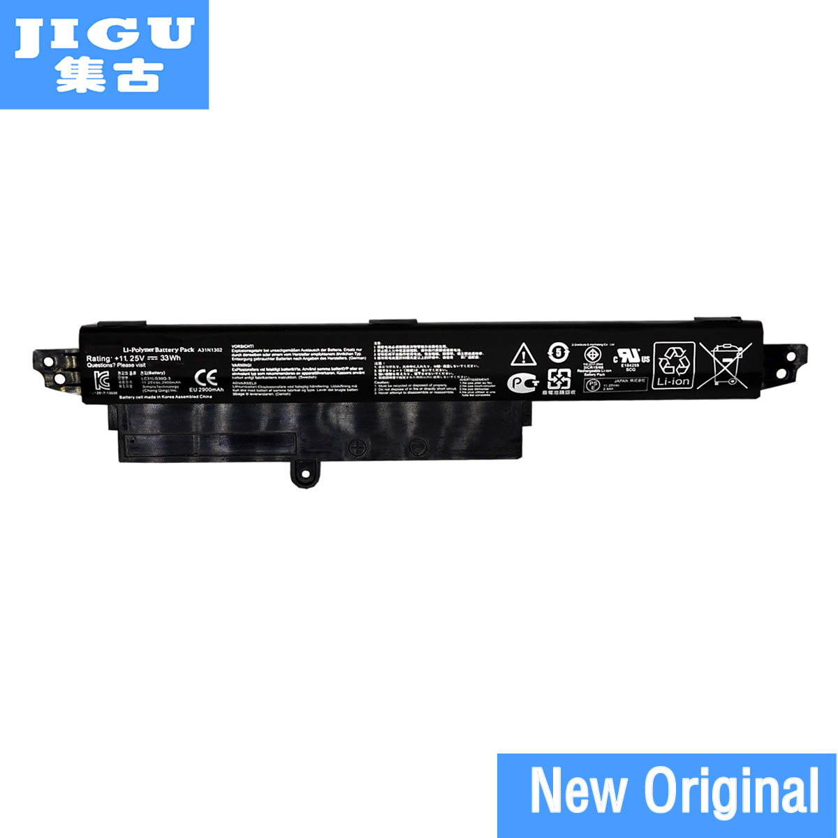 JIGU A31LM9H A31N1302 Original laptop Battery For <font><b>Asus</b></font> VivoBook F200CA <font><b>X200CA</b></font> 11.25V 33WH image