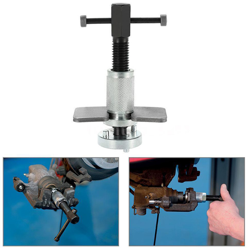 Mayitr Car Metal Caliper Pad Rewind Tool Auto Right Handed Disc Brake Piston Spreader Separator Replacement Repair Tool Kit