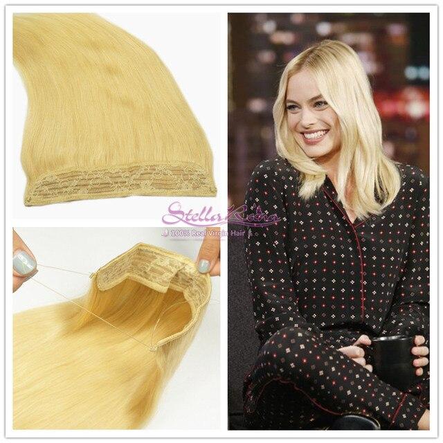 Stella Reina Hair Products 613 Bleached Platinum Blonde Brazilian