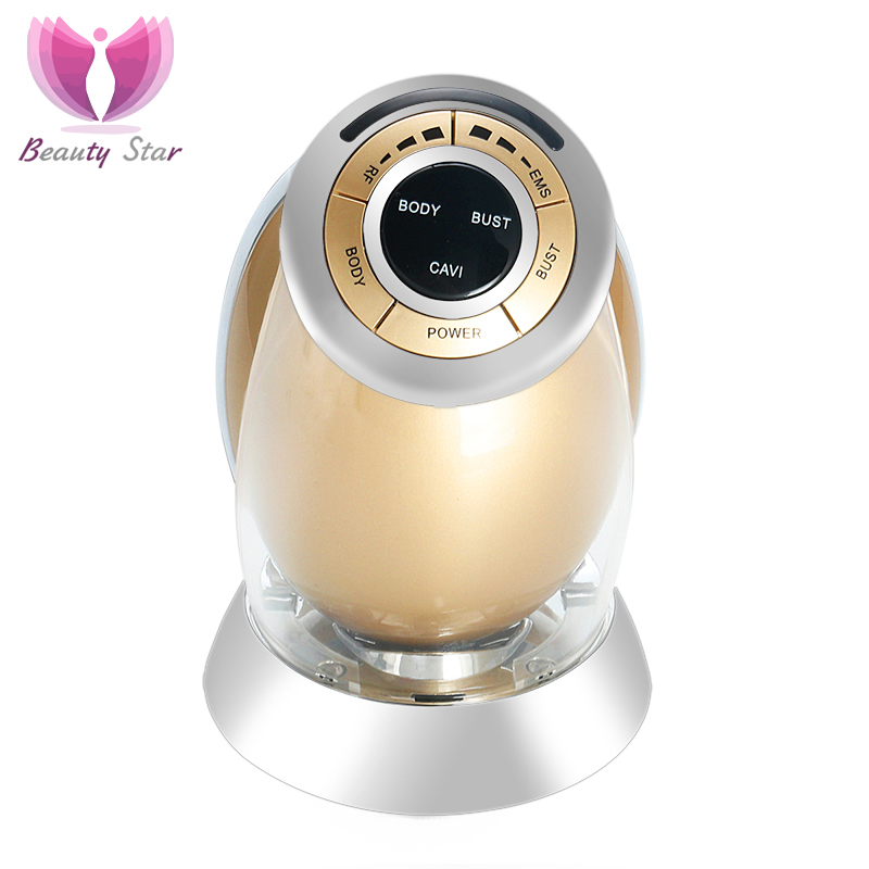 Beauty Star Body Slimming Machine RF SONIC EMS Therapy Breast Massage Skin Lift Radio Frequency Anti Cellulite Obesity Device