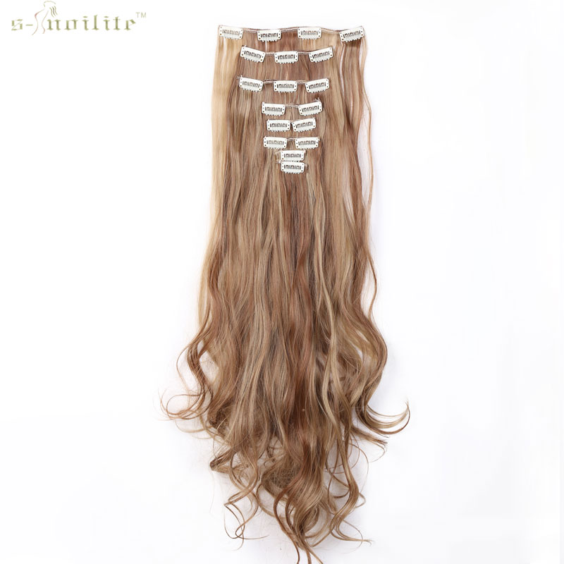 styling synthetic hair extensions snoilite 24inch 170g 18 in hair extensions 3628