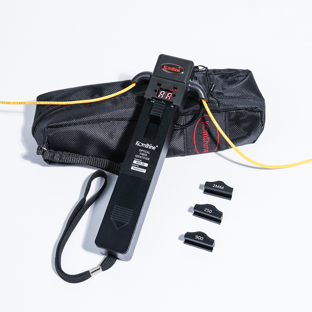 KFI-35 Optical Fiber Identifier 800-1700nm Live Fiber Identifier Detector Identificador de Fibra Optica