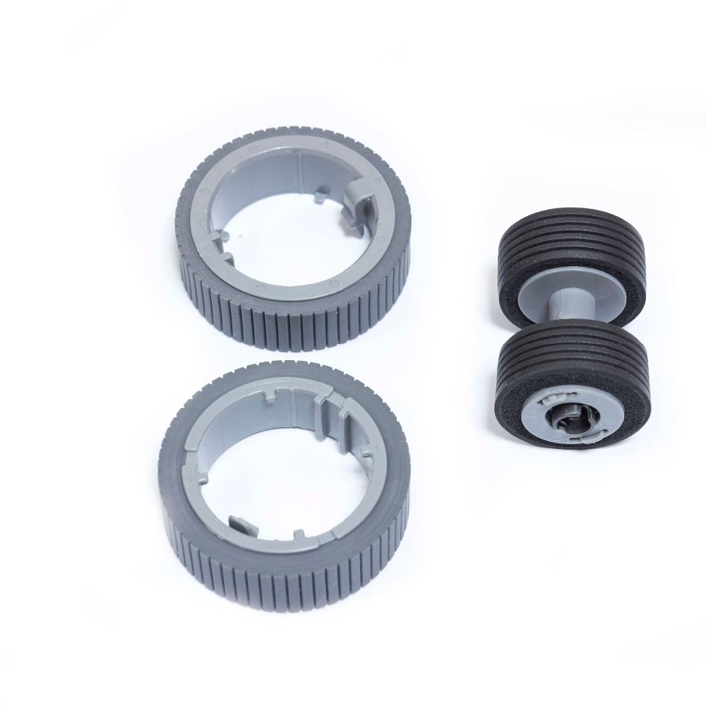 Wholesale PA03670-0001 PA03670-0002 New Scanner Pick Roller+Brake Roller Set for Fujitsu 7160 Fi-7160 7180 7260 10 Pcs/Lot
