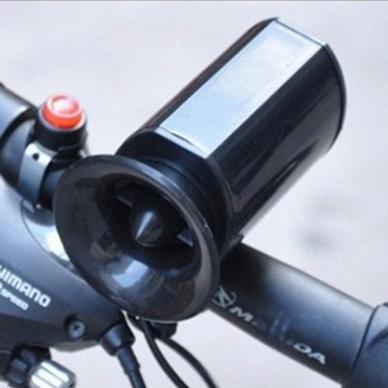 Sounds Super Loud Electronic Bicycle Bell Bike Horn Siren Ring Alarm Speaker new arriival