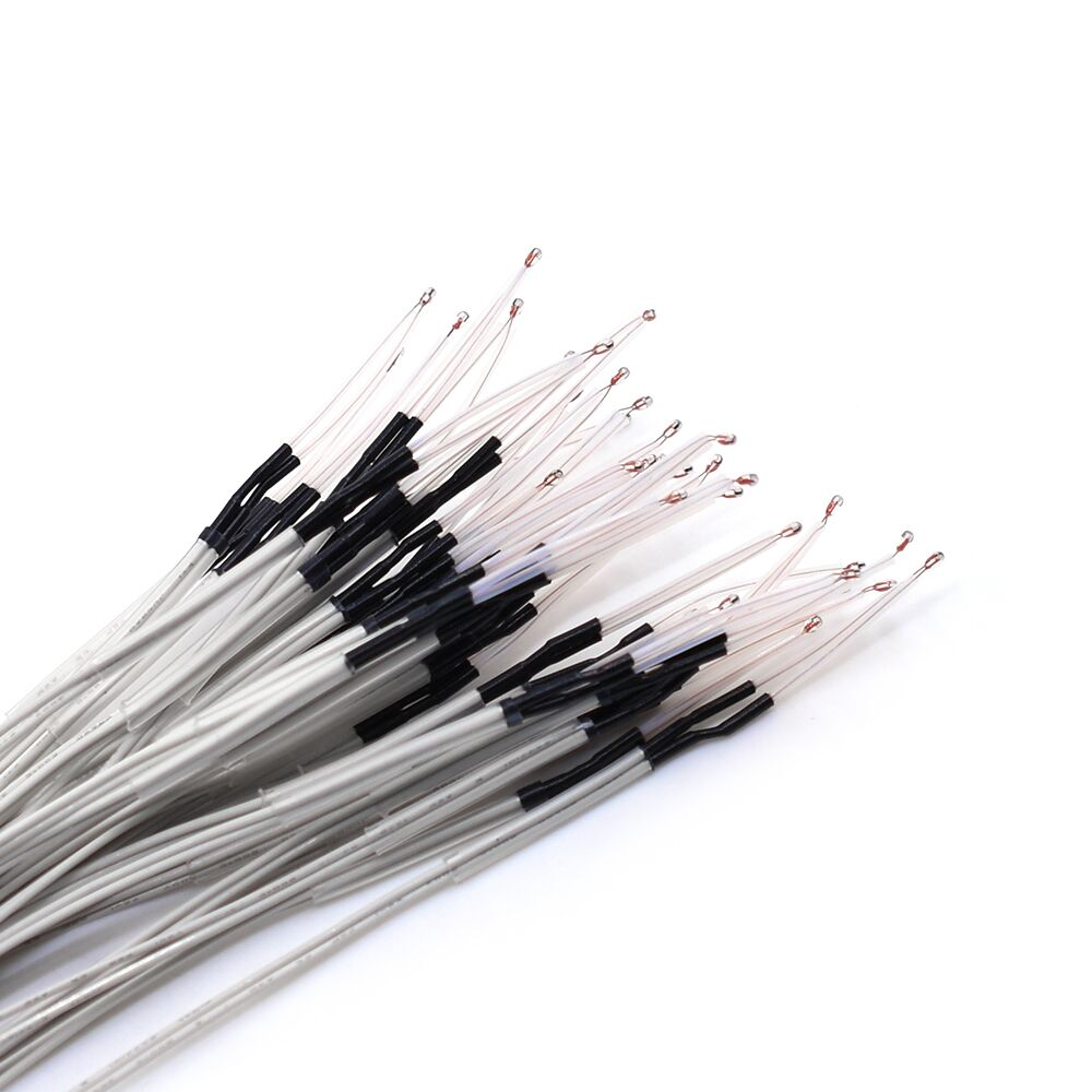 цена на 1 or 5 or10pcs 3d printer parts 100K ohm NTC 3950 Thermistors with cable for 3D Printer Reprap Mend RAMPS 1.4 A4988 MK2B HEATBED