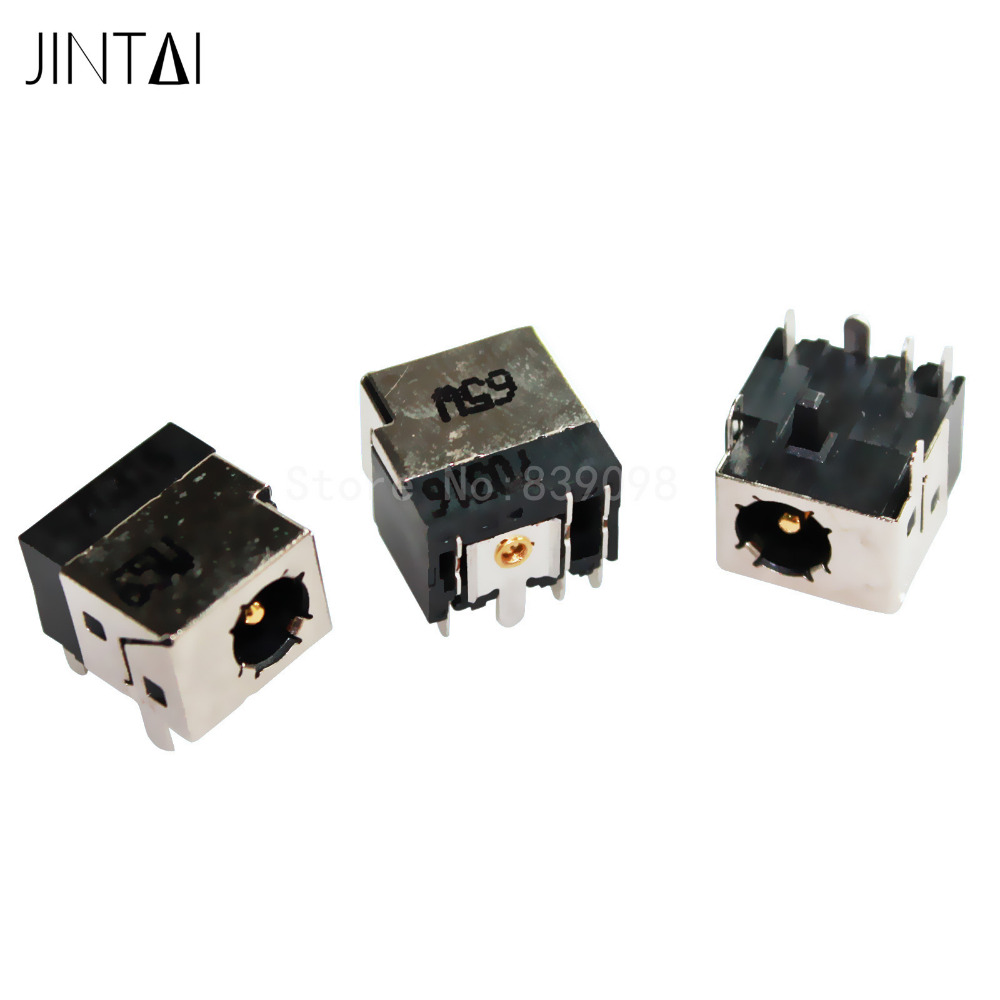 jintai 50pcs/lot DC POWER JACK SOCKET CHARGING PORT FOR HP 500 510 511 520 530 540 550 610 620 625 320 420 425 325