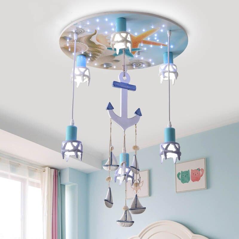 Anchor Ceiling Light For Nursery Boy