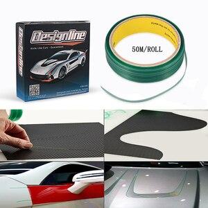 Image 1 - EHDIS 50M Vinyl Wrap Knifeless Tape Design Line Car Sticker Decal Cutting Tape Carbon Foil Film Cut Tool Auto Cutter Accessories