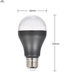 Image 4 - E27 7W żarówka UV UV ultrafioletowa fluorescencyjna żarówka Led CFL spirala Enegy oszczędność czarne światło fioletowe lampy 110v 220v 2835 Smd