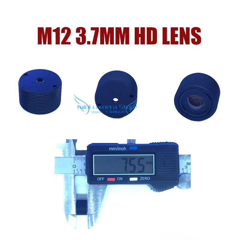 CCTV MINI lens HD M12-3.7MM for cctv video surveillance MINI camera CCD/CMOS/IPC/AHD IP Camera DIY Module Free shipping