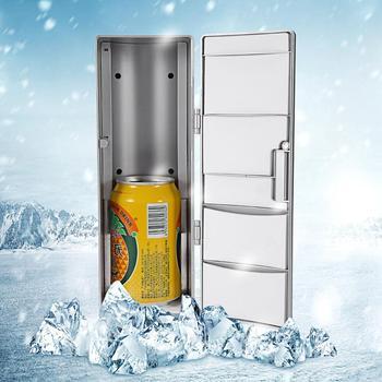 PC nevera USB refrigerador enfriador bebidas refrigerador de bebidas uso en el hogar viajes