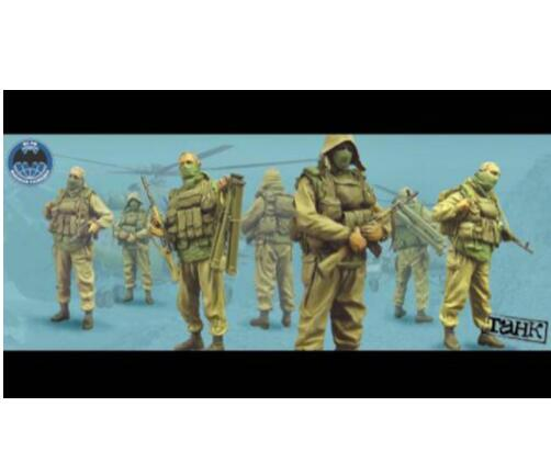 1/35 Soviet Soldiers Include 4     Toy Resin Model Miniature Resin Figure Unassembly Unpainted