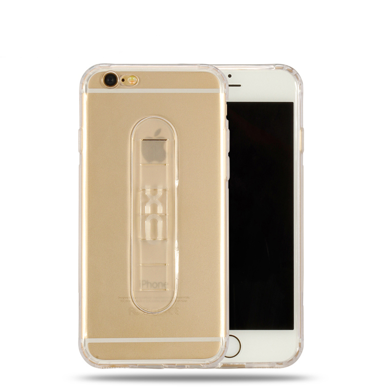 Suntaiho Phone Case  For Apple iPhone 6 Plus Adjustable Silicone Holder Soft TPU case for iPhone 6 iPhone 6S Back Cover cases