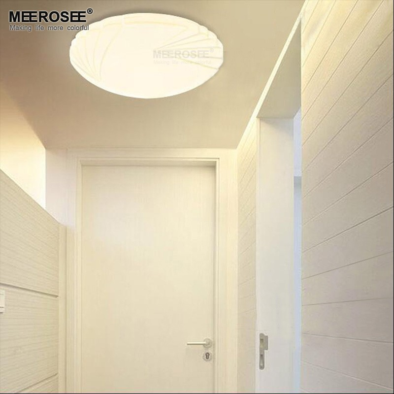 Contemporary Led Ceiling Light Fitting Small Lamparas Flush Mounted Round Lamp For Hallway Aisle Corridor Lighting Home In Lights From