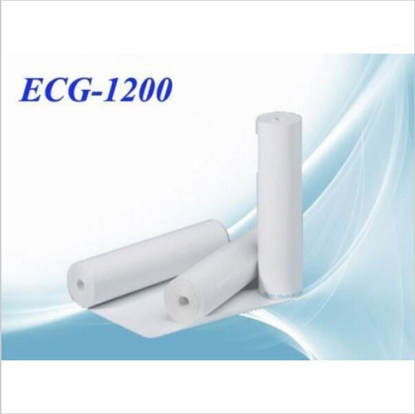 Termiczne papier do drukarki do EKG EKG maszyna ECG1200G, 210mm * 20 metrów, nagrywanie papieru