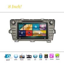 Toyota Prius 2009-2013 Için araba DVD Oynatıcı Sistemi Autoradio Araba Radyo Stereo GPS Navigasyon Multimedya Ses Video