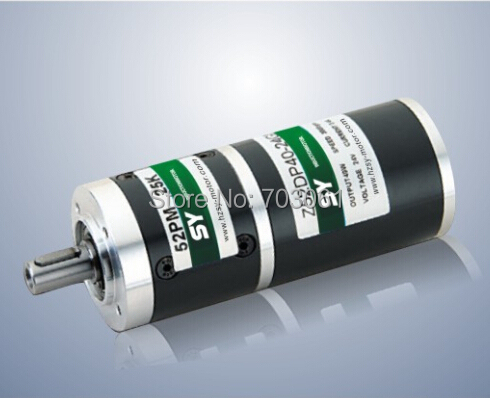 40W bldc motor with Circular gear reducer Micro planetary gearbox DC brushless gear motor DC motor high quality 5n m 42 42 119 7mm brushless dc motor with planetary gearbox reduction ratio 104 8