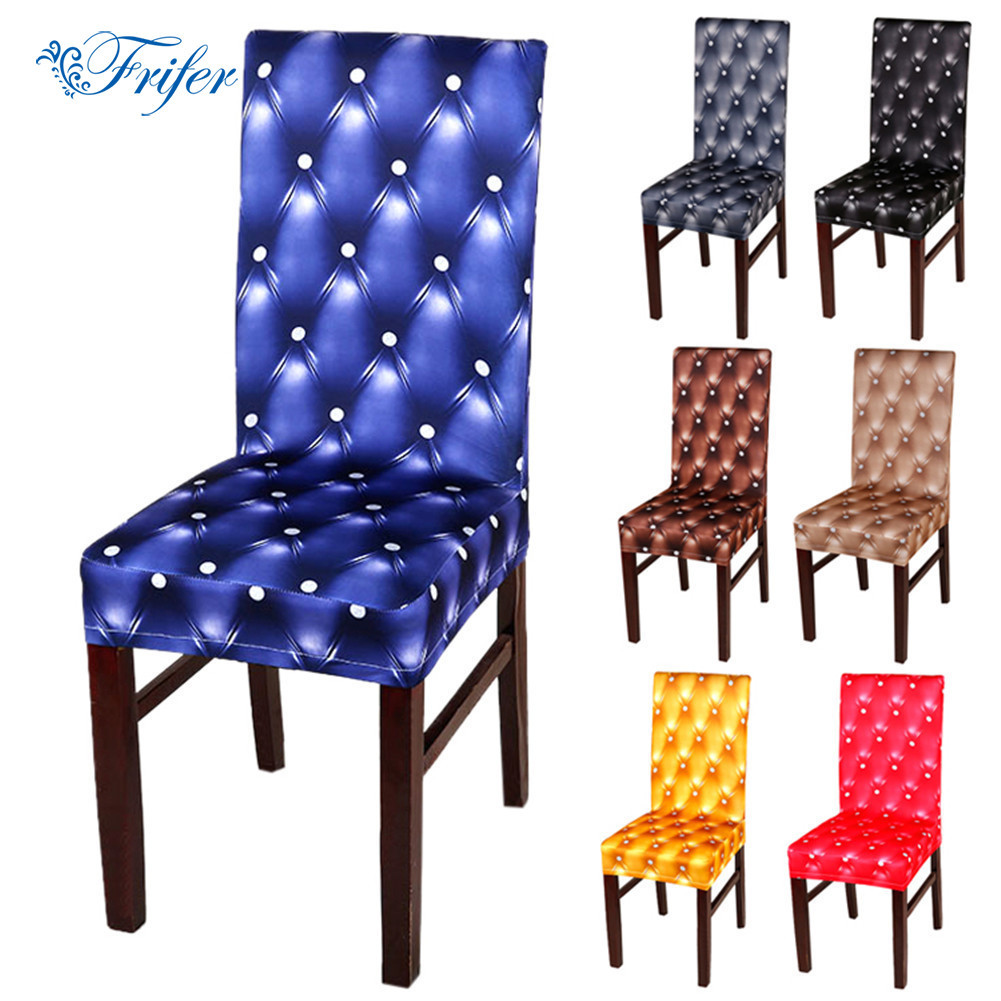 Aliexpresscom Buy 1Pcs Spandex Dining Chair Slipcovers