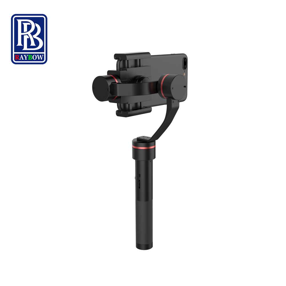 Raybow S2 brushless 3 Axis handheld stabilizer gimbal for iphone 6 7 plus gopro 5 sjcam