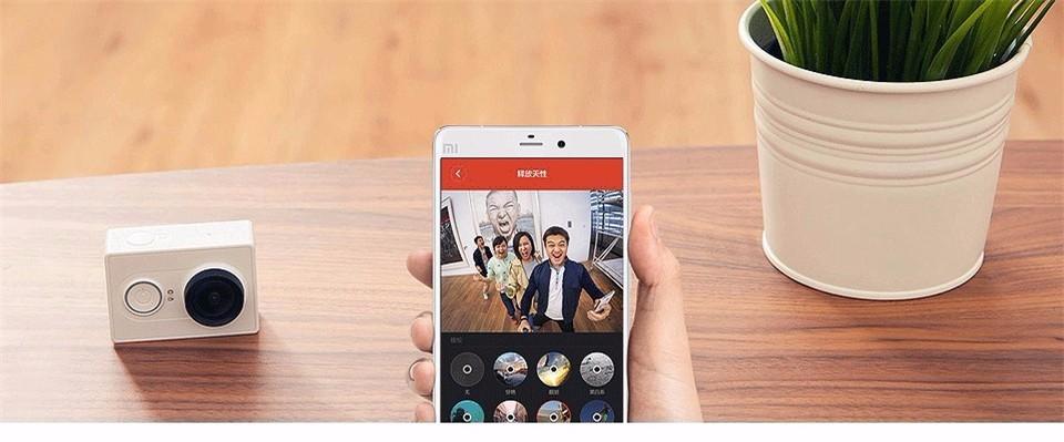 [International Edition]Original Xiaomi YI Action Camera Xiaoyi 1080P Sports Camera WiFi 3D Noise Reduction 16MP 60FPS Ambarella 8